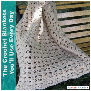 The Crochet Blankets You'll Use Every Day