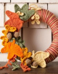 Thanksgiving Leaves Wreath