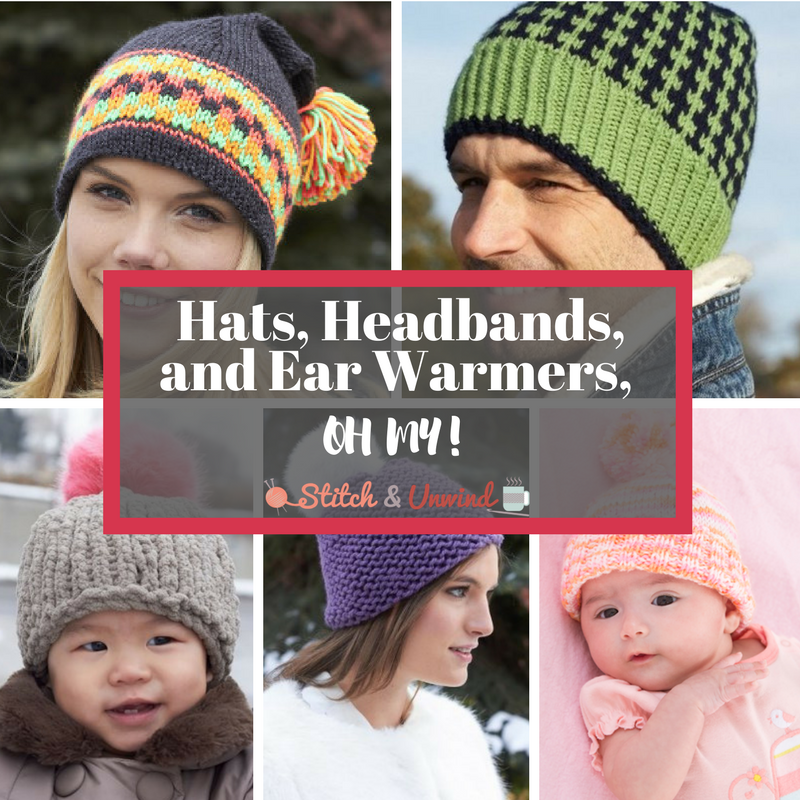 Diy Knitted Hats Headbands And Ear Warmers Oh My Stitch And Unwind