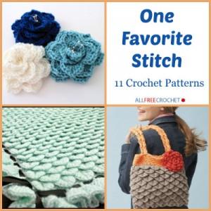 One Favorite Stitch, 11 Crochet Patterns