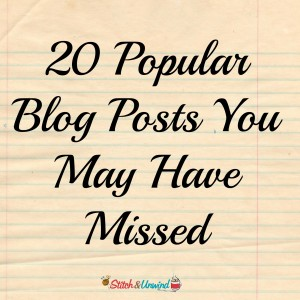 20 Popular Blog Posts You May Have Missed