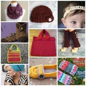 Cute as a Button: 10 Crochet Patterns