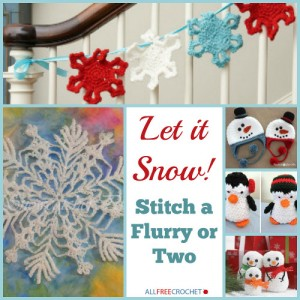 Let it Snow! Stitch a Flurry or Two!