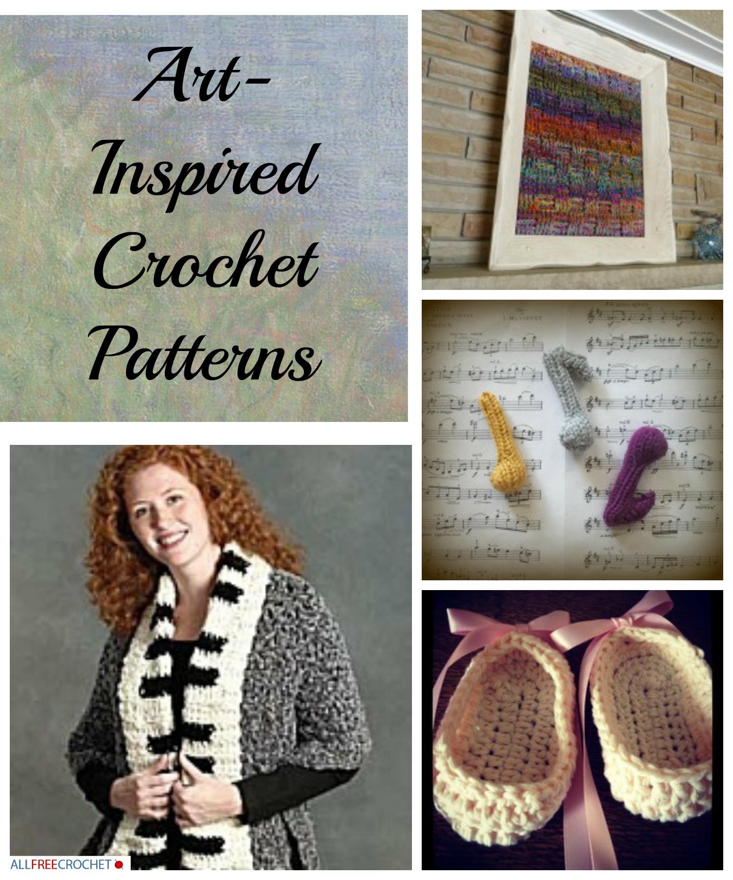 Art Inspired Crochet Patterns Stitch And Unwind