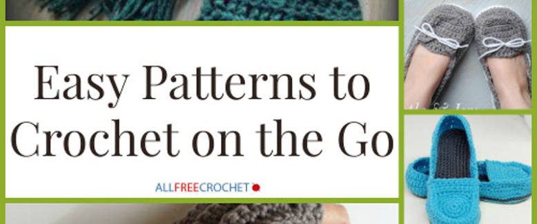 Easy Patterns to Take on the Go
