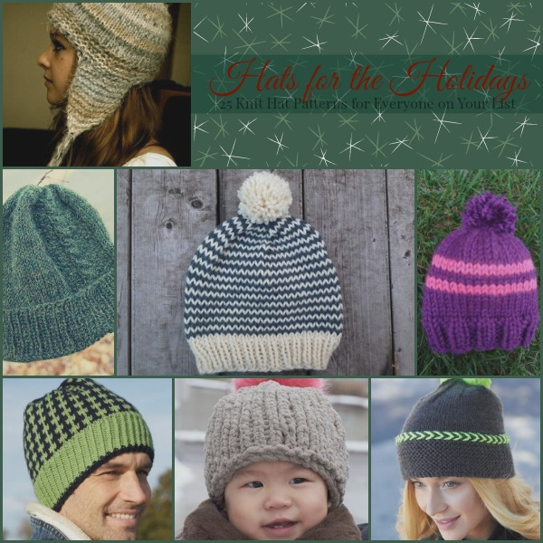 Hats for the Holidays  25 Knit Hat Patterns for Everyone on Your List -  Stitch and Unwind cefafcde2e7