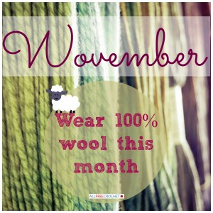 Wovember: Celebrate Wool This Month