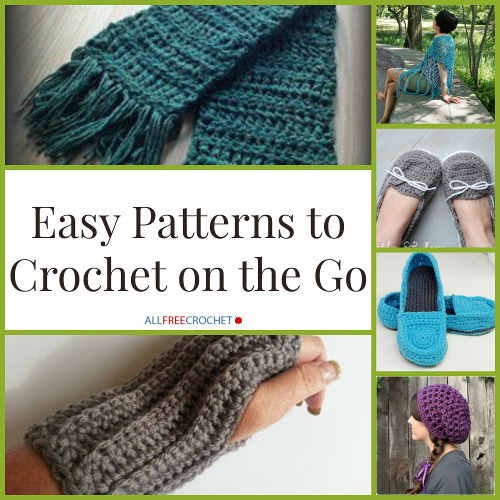 Easy Patterns to Crochet on the Go