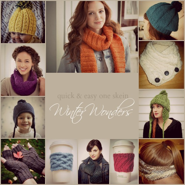 One Skein Or Less Winter Wonders Stitch And Unwind