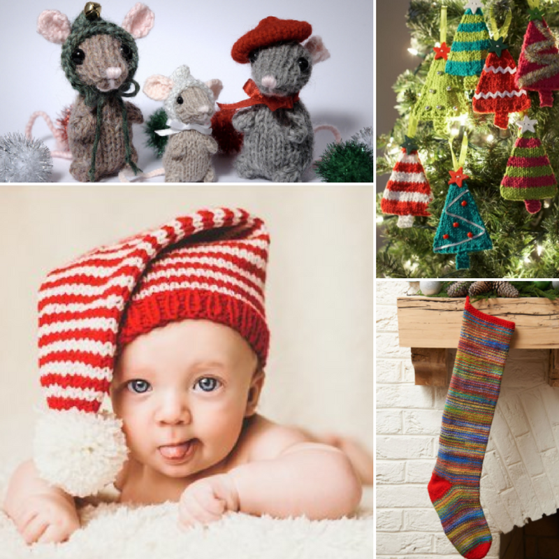 Baby's First Christmas: 21 Free Knitting Patterns for Baby ...