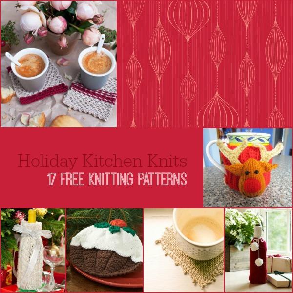 Kids Knitted Hat Patterns : Holiday Kitchen Knits: 17 Free Knitting Patterns - Stitch and Unwind