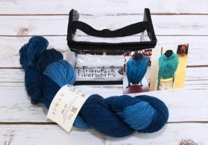 Blue Asheville Scarf Kit