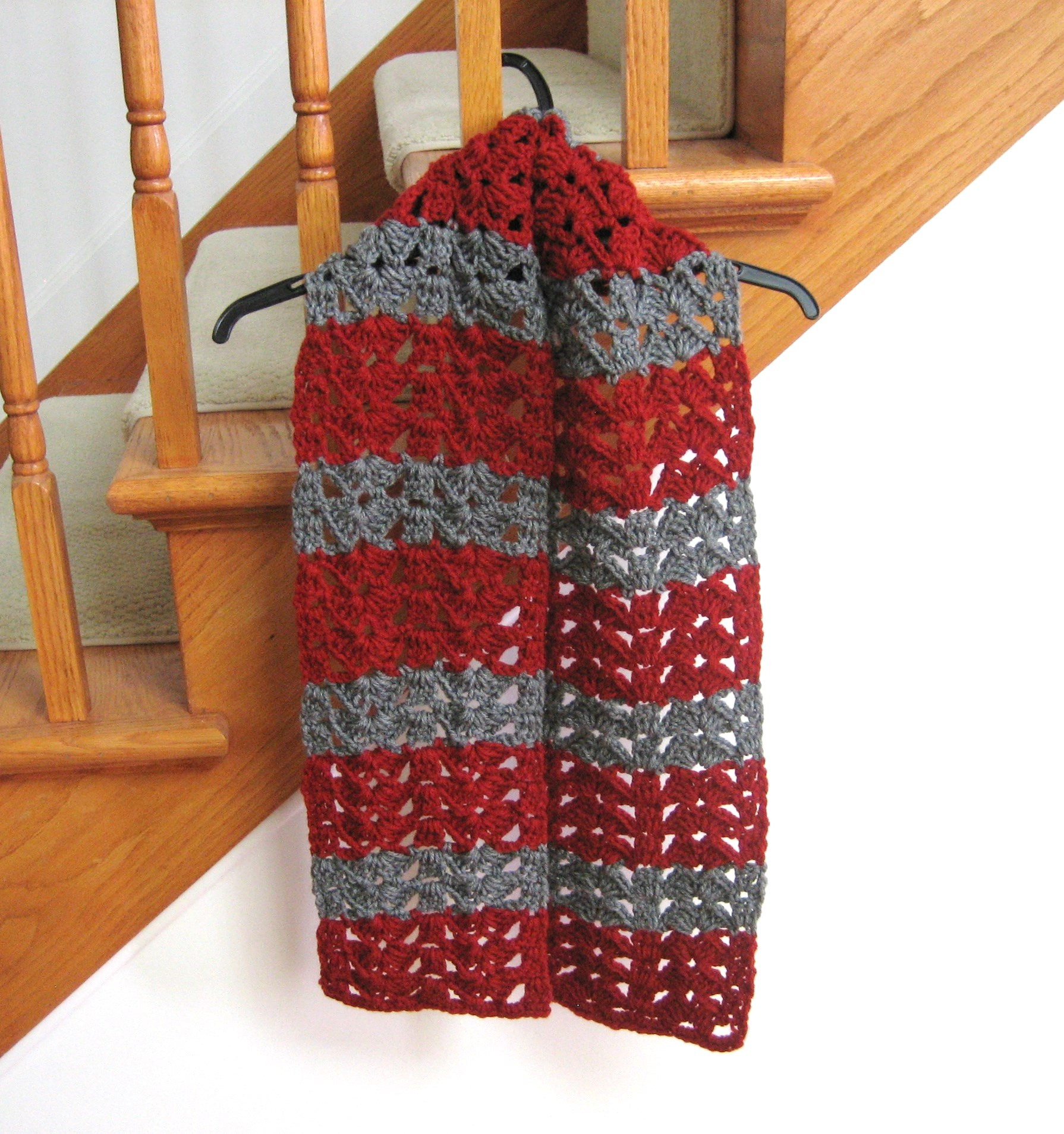 Crochet Pattern of the Day: Butterfly Wings Scarf - Stitch ...