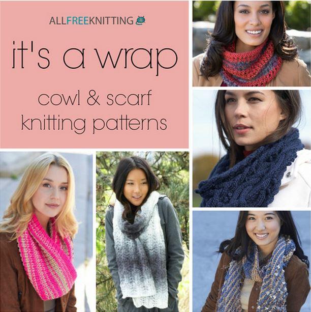 Its A Wrap 275 Cowl Scarf Knitting Patterns Stitch And Unwind