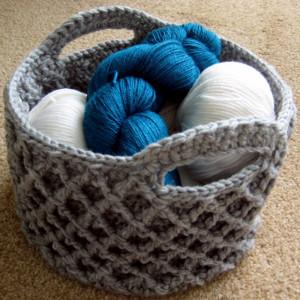 Simply Irresistible Diamond Trellis Basket
