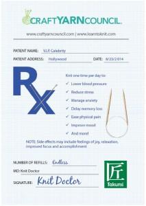 Knitting Prescription