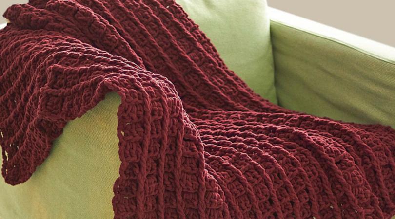 Red Bricks Crochet Afghan Pattern Stitch And Unwind