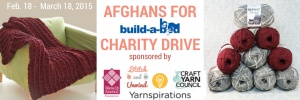 AFGHANS for Build-a-Bed Charity Drive