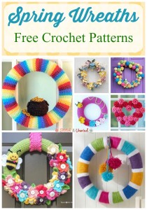 Spring Wreaths: Free Crochet Patterns for Home Decor