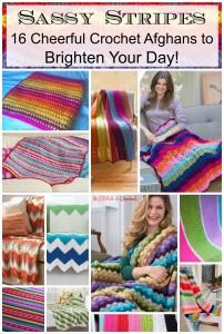 Sassy Stripes Free Crochet Afghan Patterns