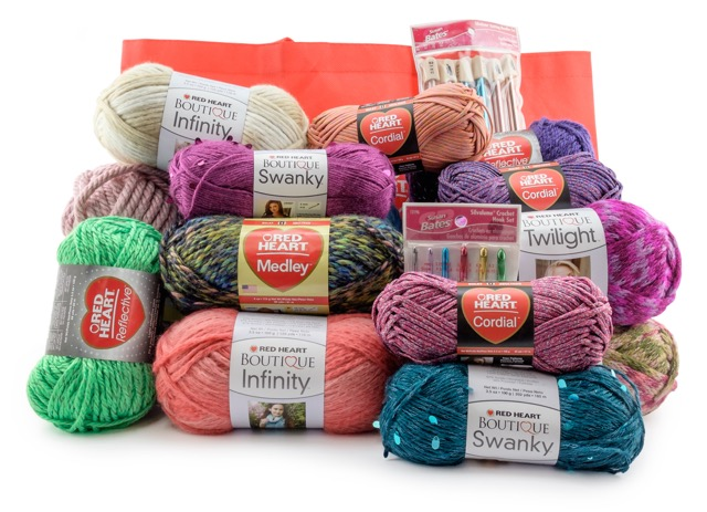 Red Heart Dream Yarn Giveaway - Stitch and Unwind
