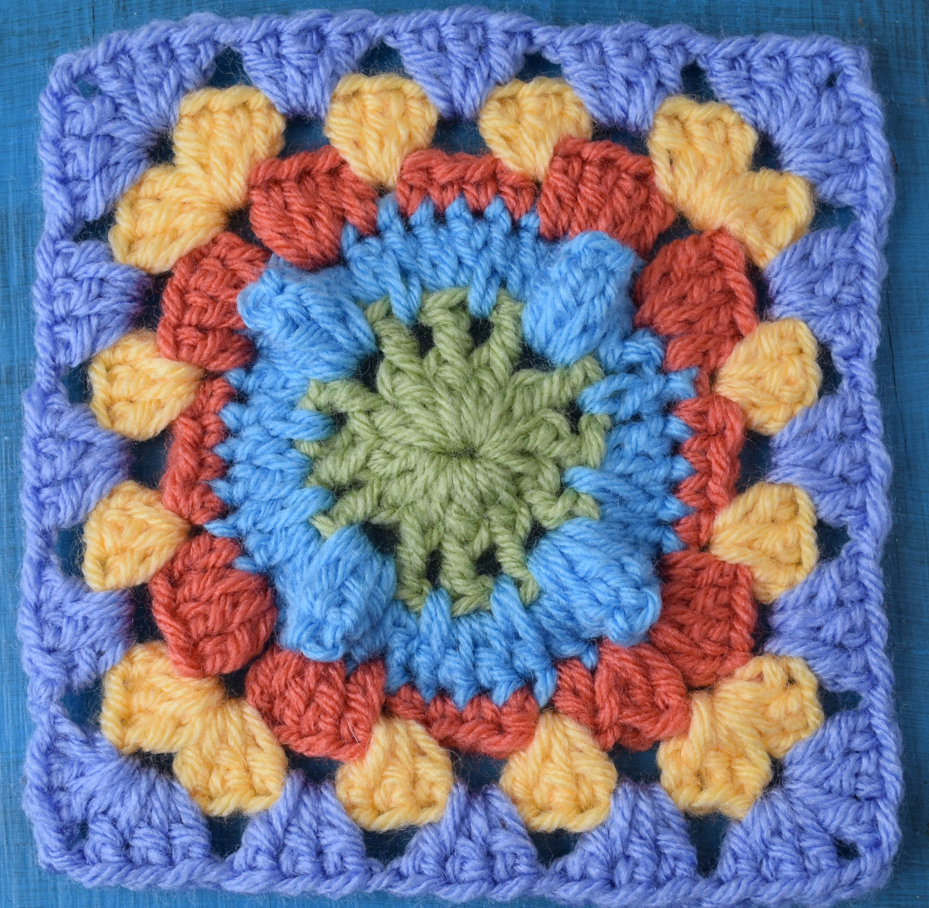 Free Online Crochet Granny Square Patterns : Design Your Own Blanket Using Your Favorite Granny Square ...