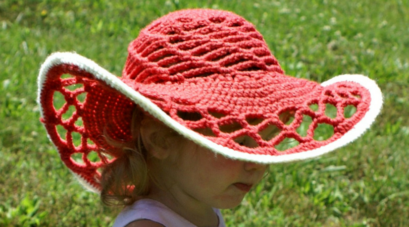 e289e14e4b4 10 Pretty Sun Hat free crochet patterns - Stitch and Unwind