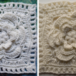 The Mayapple Crochet Granny Square Pattern