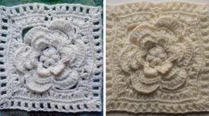 The Mayapple Crochet Granny Square Pattern
