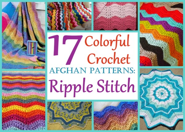 Americas Favorite Crochet Ripple Throw Stitch And Unwind
