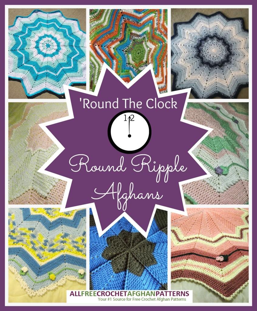 America\'s Favorite Crochet Ripple Throw - Stitch and Unwind