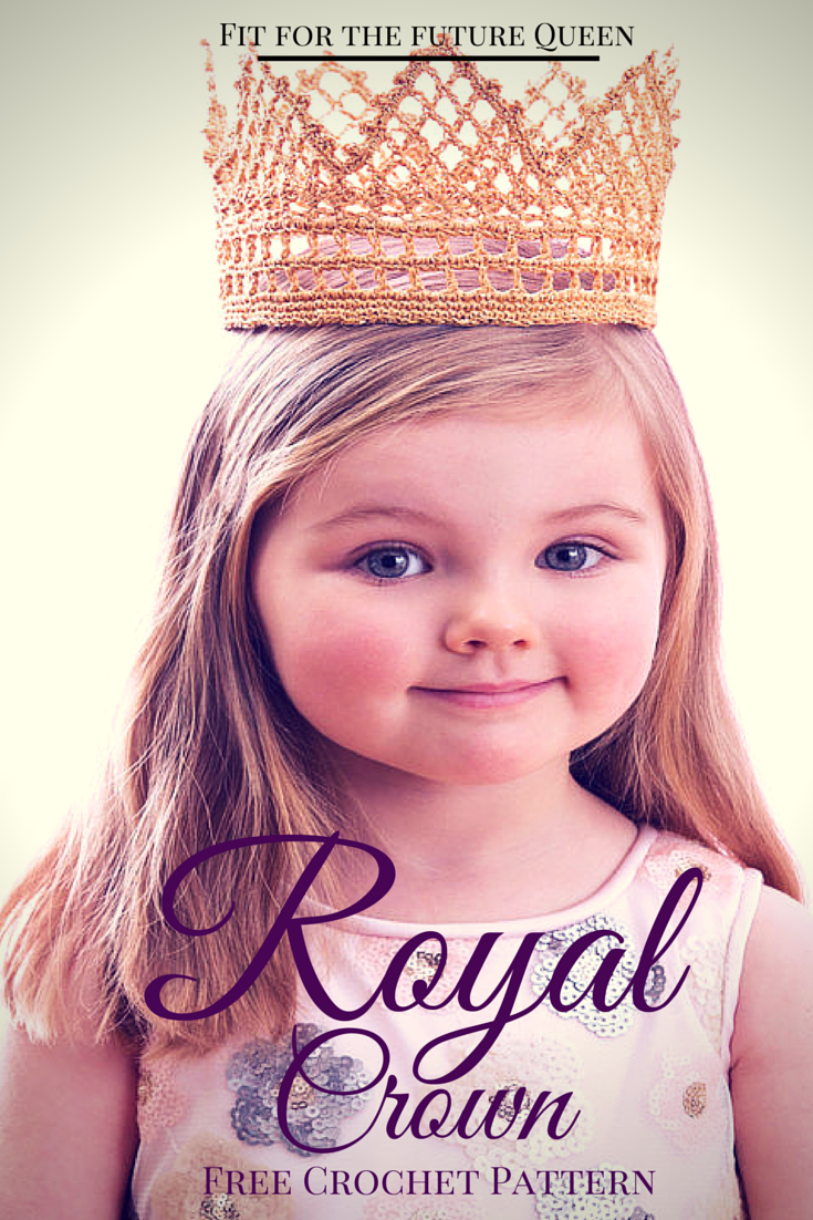 The Free Crochet Pattern Fit for a Royal Princess - Stitch and Unwind