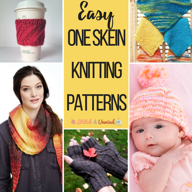 The Quickest One Skein Patterns You'll Ever Knit