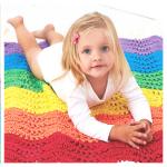 rainbow crochet afghan pattern