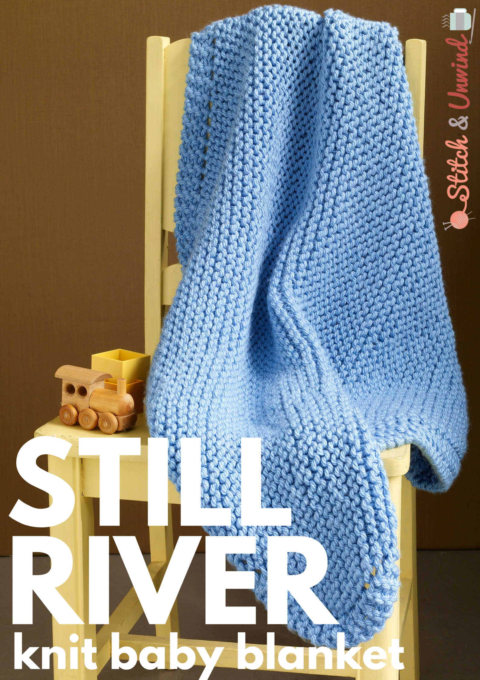 Still River Knit Baby Blanket