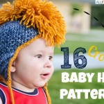 Baby Hat Collage