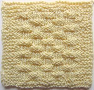 Lattice Crust, free #knitting sampler square pattern by @ucrafter on Stitch & Unwind by @allfreeknitting