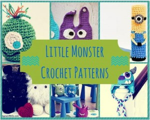 Little Monsters Crochet Pattern