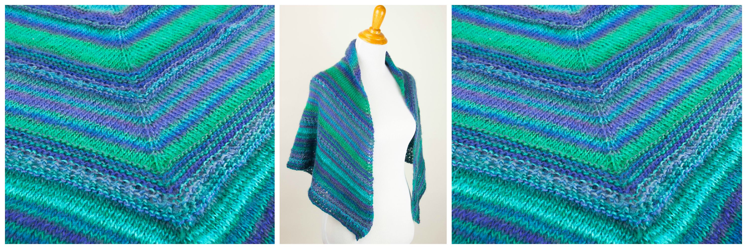 knit prayer shawl pattern