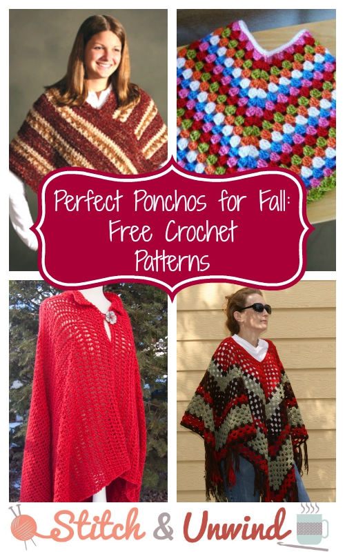 Free Poncho Crochet Patterns