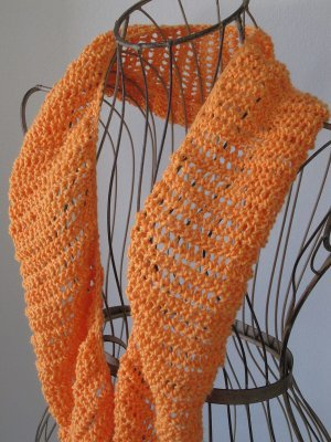 I Love Lucy Knit Scarf