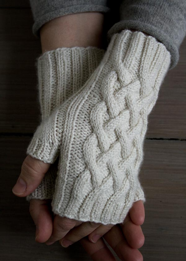 Knit Fingerless Gloves 16 Free Patterns Stitch And Unwind