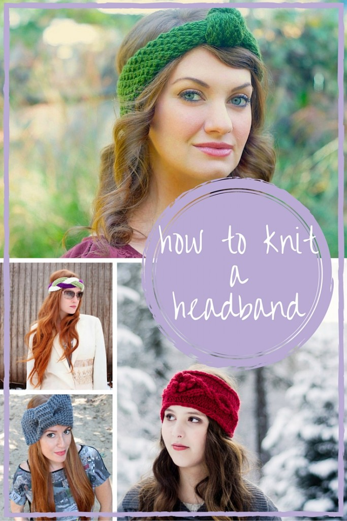 How To Knit a Headband: Free Patterns