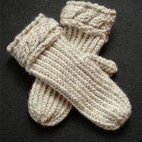 Loom Knit Mittens