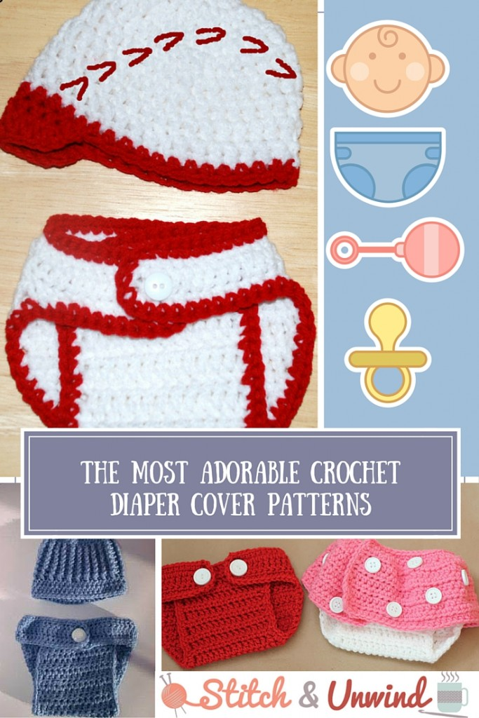 Most Adorable Crochet Diaper Cover Patterns