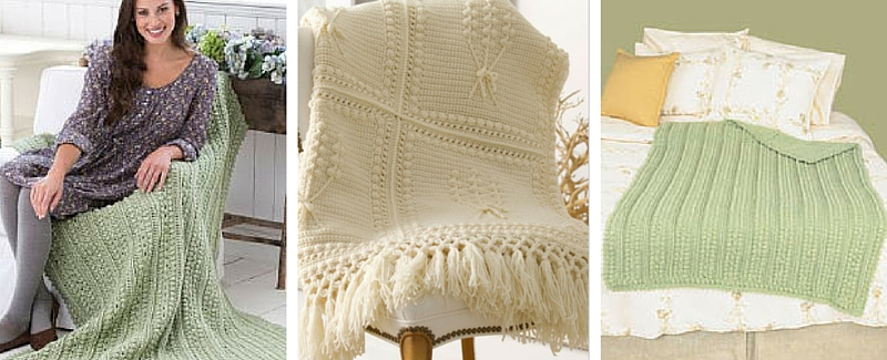 Top O\' the Mornin\' to Ya! 7 Easy Aran Afghan Patterns - Stitch and ...