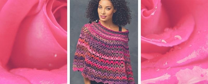 Free Pattern Friday: Crochet Poncho Pattern from Red Heart
