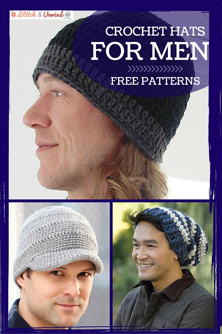 Crochet Hats for Men