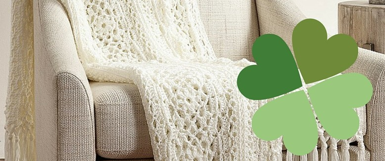 Free Pattern Friday: Irish Lace Afghan from Yarnspirations