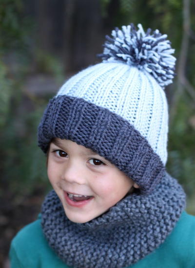 Three Cheers For Pom Poms 14 Knit And Crochet Hats Stitch And Unwind